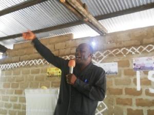 Pastor Michael Ahiadzonu, Missionary in Togo